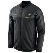Men's Nike Black Colorado Buffaloes 2016 Sideline Elite Hybrid Performance Jacket