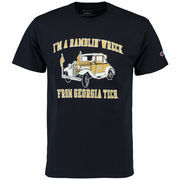 Men's Champion Navy Georgia Tech Yellow Jackets Local T-Shirt
