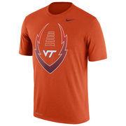Men's Nike Orange Virginia Tech Hokies Legend Icon T-Shirt