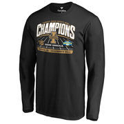 Men's Fanatics Branded Black Idaho Vandals 2016 Idaho Potato Bowl Champions Long Sleeve T-Shirt