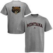 Mens adidas Ash Montana Grizzlies Relentless T-Shirt