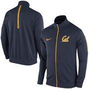 Men's Nike Navy Cal Bears 2015 Football Players Empower Travel Full Zip Jacket