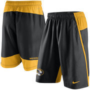 Men's Nike Black Missouri Tigers Fly 3.0 Shorts