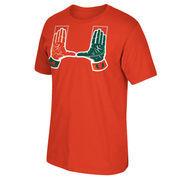 Men's adidas Orange Miami Hurricanes Local Go To T-Shirt