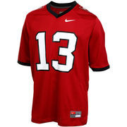Nike Harvard Crimson #13 Game Jersey - Crimson
