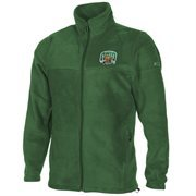 Columbia Ohio Bobcats Flanker Full Zip Fleece Jacket - Green