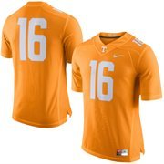 Men's Nike Tennessee Orange Tennessee Volunteers No. 16 Limited Football Jersey