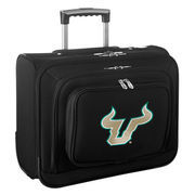 South Florida Bulls Carry-On Rolling Laptop Bag - Black