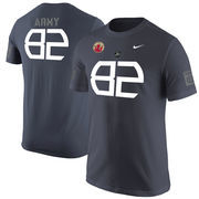 Men's Nike Anthracite Army Black Knights 82nd Airborne Tribute T-Shirt