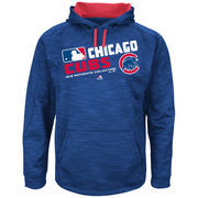 Men's Majestic Royal Chicago Cubs Authentic Collection Team Choice Streak Hoodie