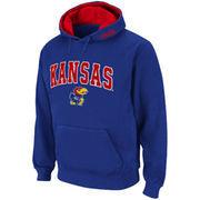 Kansas Jayhawks Royal Blue Classic Twill II Pullover Hoodie Sweatshirt