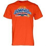 Men's Orange Florida Gators 2015 NCAA Women's Softball College World Series Champions T-Shirt