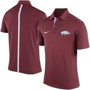 Men's Nike Crimson Arkansas Razorbacks Coaches Sideline Performance Polo