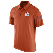 Men's Nike Orange Clemson Tigers Team Issue Dri-FIT Polo