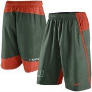Men's Nike Green Miami Hurricanes Fly 3.0 Shorts
