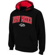 Men's Stadium Athletic Black New Mexico Lobos Arch & Logo Pullover Hoodie