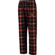 Men's Concepts Sport Black Oregon State Beavers Ultimate Flannel Pajama Pants
