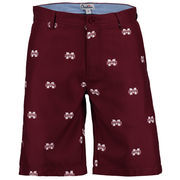 Men's Maroon Mississippi State Bulldogs Ovation All Over Print Golf Shorts