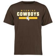 Men's Brown Wyoming Cowboys Team Strong T-Shirt