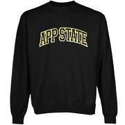 Appalachian State Mountaineers Arch Name Sweatshirt - Black