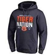 Men's Fanatics Branded Navy Auburn Tigers 2017 Sugar Bowl Bound Nation Pullover Hoodie
