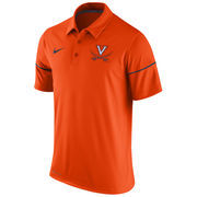 Men's Nike Orange Virginia Cavaliers Team Issue Dri-FIT Polo