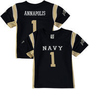 Youth Colosseum #1 Navy Navy Midshipmen Football Jersey