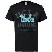 Men's New Agenda Black UCLA Bruins Blackout Focus T-Shirt