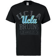 Men's New Agenda Black UCLA Bruins Blackout Focus T-Shirt