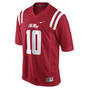Men's Nike Eli Manning Red Ole Miss Rebels Alumni Football Jersey
