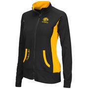 Women's Southern Miss Golden Eagles Black Slalom Full Zip Jacket