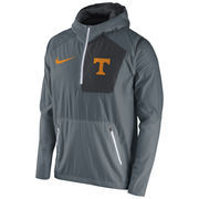 Men's Nike Gray Tennessee Volunteers 2016 Sideline Vapor Fly Rush Half-Zip Pullover Jacket