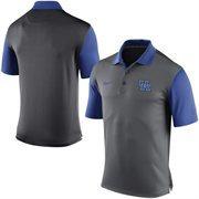 Men's Nike Gray Kentucky Wildcats 2015 Coaches Preseason Sideline Polo