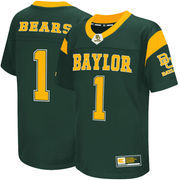 Youth Colosseum #1 Green Baylor Bears Football Jersey