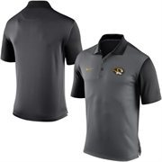 Men's Nike Gray Missouri Tigers 2015 Coaches Preseason Sideline Polo