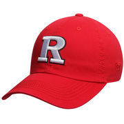 Men's Top of the World Scarlet Rutgers Scarlet Knights Solid Crew Adjustable Hat