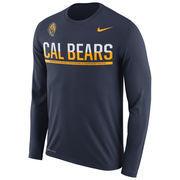 Men's Nike Navy Cal Bears 2016 Staff Sideline Legend Dri-FIT Long Sleeve T-Shirt