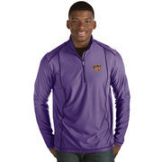 Men's Antigua Purple Northern Iowa Panthers Tempo 1/2-Zip Desert Dry Pullover Jacket