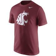 Men's Nike Crimson Washington State Cougars Logo T-Shirt
