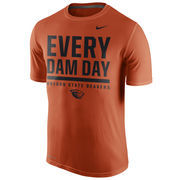 Men's Nike Orange Oregon State Beavers Local Verbiage Dri-FIT Legend T-Shirt