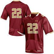 Men's Under Armour Maroon #22 Boston College Eagles Replica Football Jersey