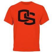 Mens Oregon State Beavers Orange Core Logo T-Shirt