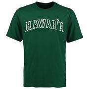 Men's Green Hawaii Warriors Mallory T-Shirt