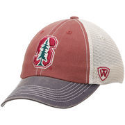 Men's Top of the World Cardinal/Gray Stanford Cardinal Offroad Trucker Adjustable Hat