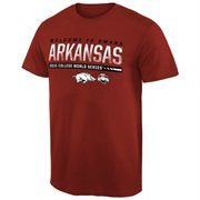Men's Cardinal Arkansas Razorbacks 2015 NCAA Men's Baseball College World Series Bound Participant T-Shirt