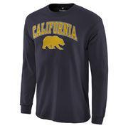 Men's Navy Cal Bears Campus Long Sleeve T-Shirt