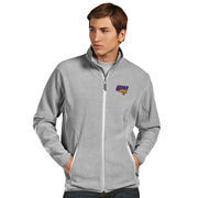 Men's Antigua Silver Northern Iowa Panthers Ice Full-Zip Jacket