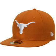 Men's New Era Texas Orange Texas Longhorns Basic 59FIFTY Fitted Hat