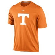 Men's Nike Tennessee Orange Tennessee Volunteers Logo Legend Performance T-Shirt