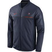 Men's Nike Navy Virginia Cavaliers 2016 Sideline Elite Hybrid Performance Jacket